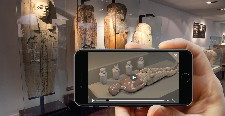 App Museu Egipci de Barcelona