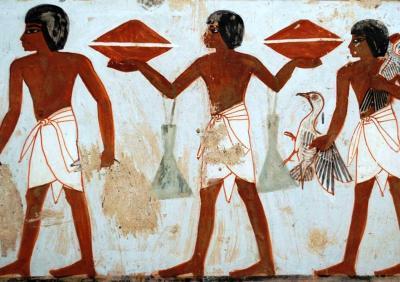 L'art i els colors dins les tombes