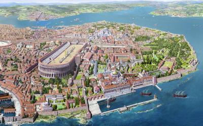 La Constantinoble somniada per Constantí el Gran