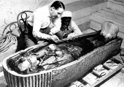 Tutankhamón Descobriment