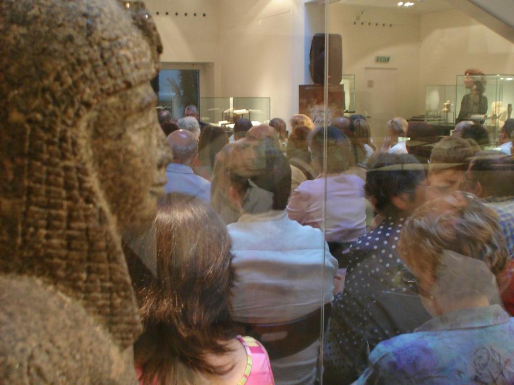 evento en el Museo Egipcio
