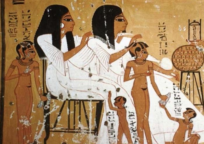 La vida adulta a l'antic Egipte