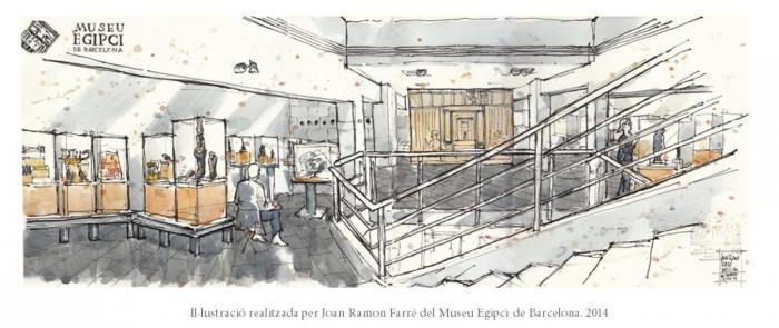 Nadala 2014 Museu Egipci de Barcelona