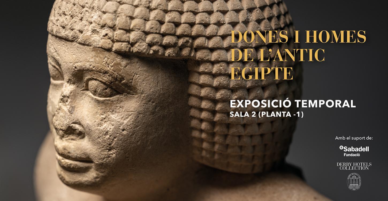 Exposició Dones i homes de l'antic Egipte