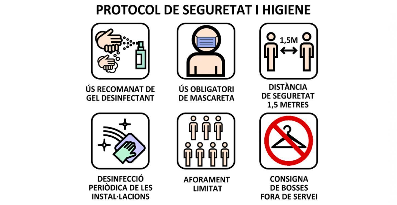 PROTOCOL DE SEGURETAT I HIGIENE