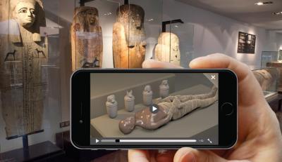 App Museu Egipci secció momificació