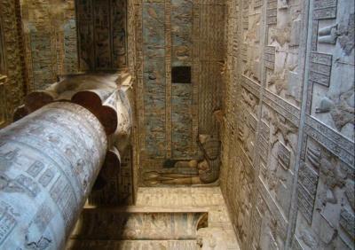 Dandara , Templo de la Diosa Hathor. El Egipto Faraónico más desconocido. De las pirá,ides menfitas al vergel de El Fayum, de la misteriosa Amarna a la poderosa Tebas