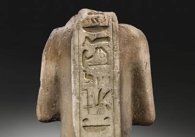 Revers estàtua Ramsès II