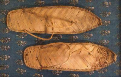 Sandàlies egípcies. Museu Egipci de Barcelona