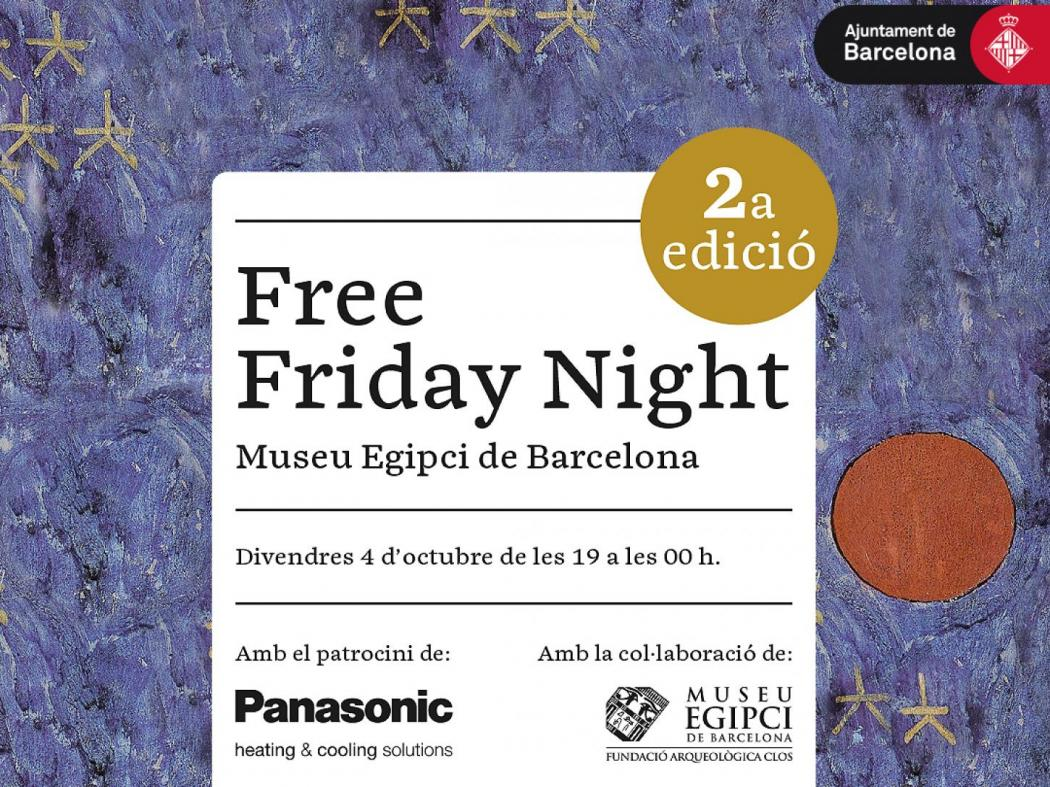 2ª EDICIÓ FREE FRIDAY NIGHT