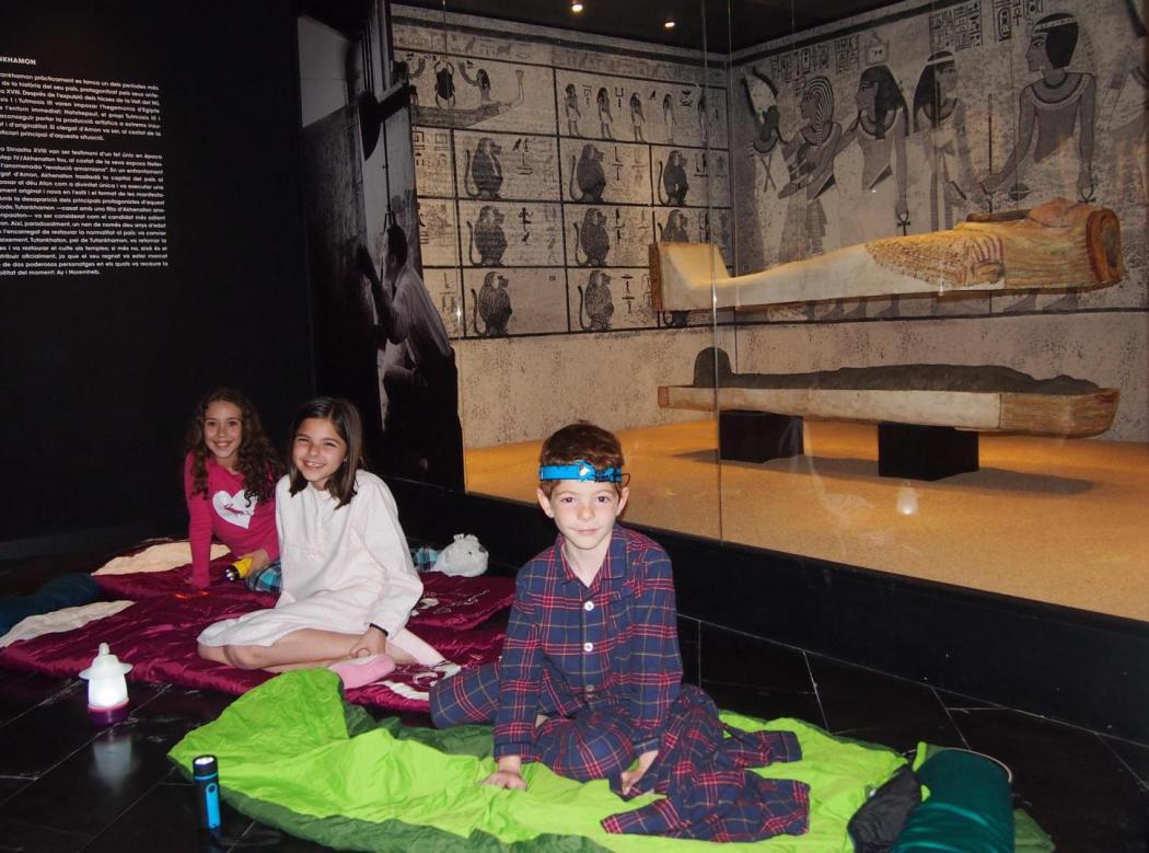 nit al museu egipci