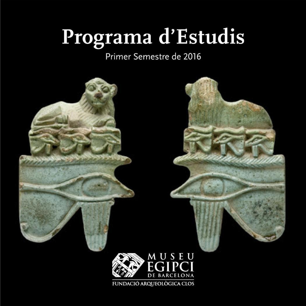 Programa Estudis 2016