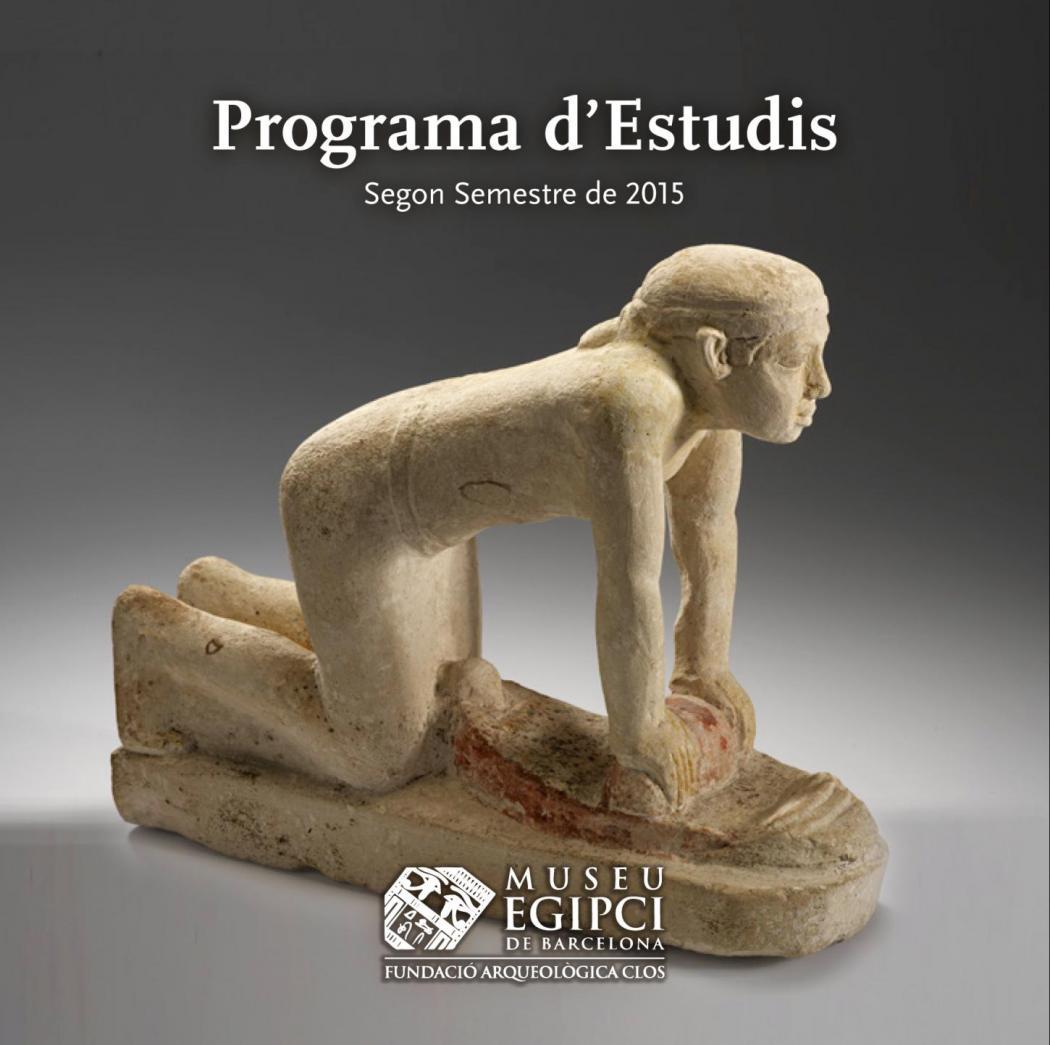 Programa Estudis Segon Semestre 2015