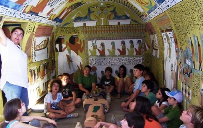 Actividad infantil de Arqueología