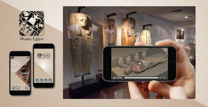 App Museu Egipci de Barcleona per visitar el Museu Egipci de Barcelona ara que el COVID-19 no ens deixa sortir de casa
