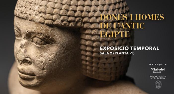 Exposició temporal del Museu Egipci de Barcelona