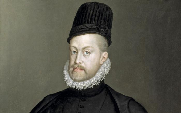 Felip II, per Sofonisba Anguissola (ca. 1570)