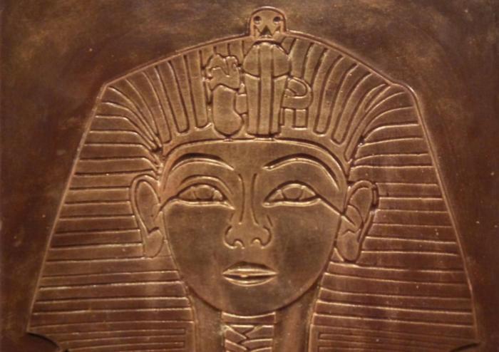 Màscara de Tutankhamon en xocolata