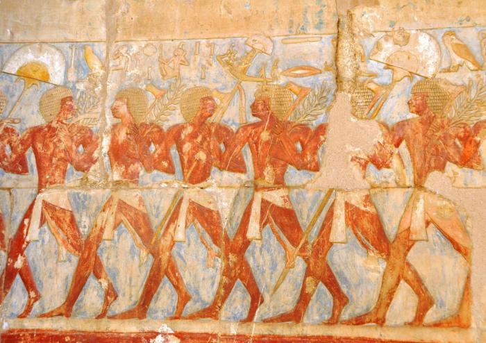 Rangos y títulos militares del ejército egipcio del Imperio Nuevo