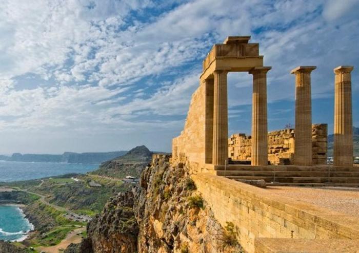 Rodes, la gran potència naval del Mediterrani