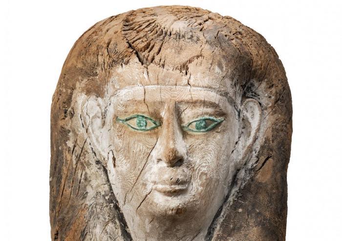 Sarcófago del Museo Egipcio de Barcelona