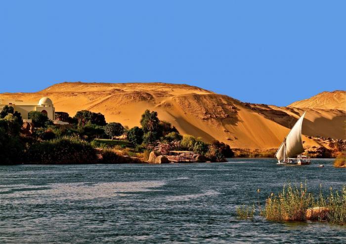 Viaje a Egipto Nilo Asuán