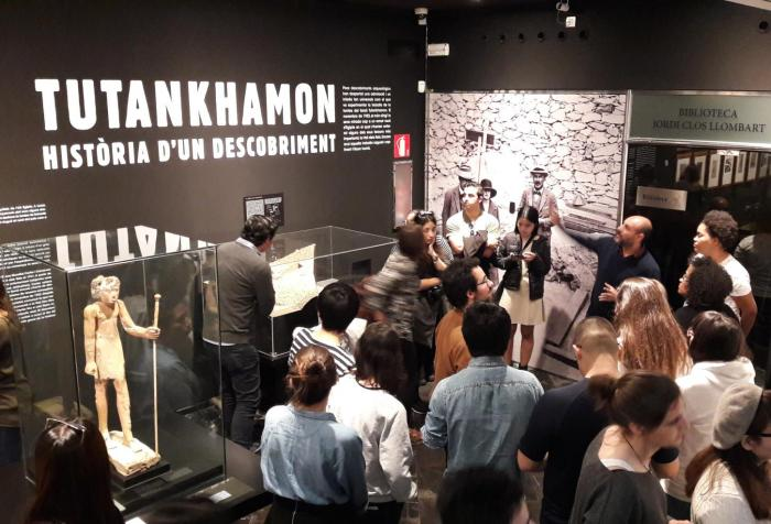 Visita Exposició Tutankhamon, Història d'un descobriment