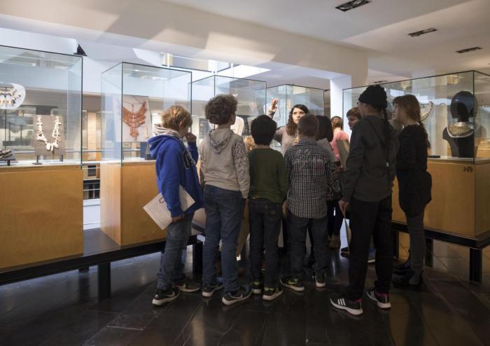 Visita Infantil al Museu Egipci de Barcelona